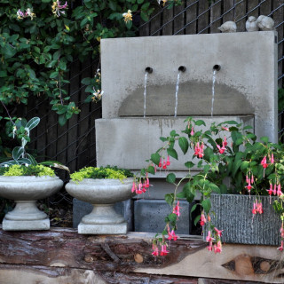 Fountains & Benches