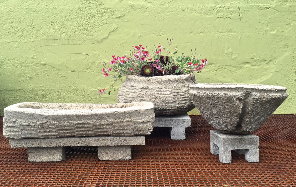 Hand Cast Stone Pot Workshop, Sat., June 4...click here!